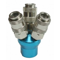 Puma 1/4'' 3 Way Quick Coupler