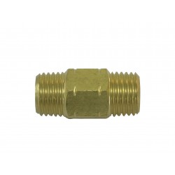 Puma 1/4 NPT x 1/4 NPT Hex Nipple BP