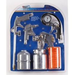 Voylet AK-6 5 Piece Spray Gun Kit