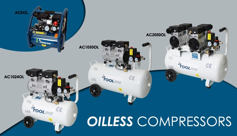 New Oilless Compressors