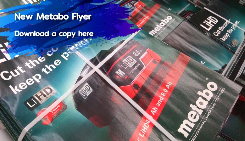 New Metabo Flyer