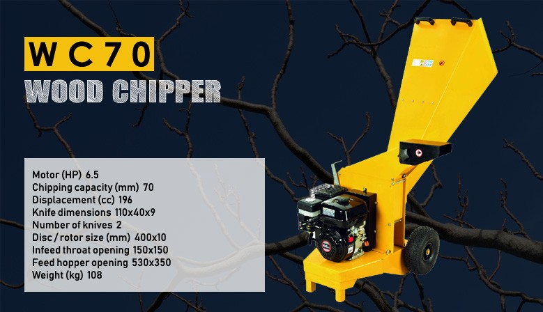WC70 Wood Chipper
