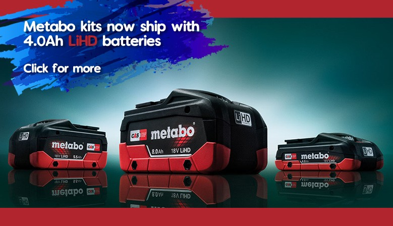 Metabo LiHD Batteries