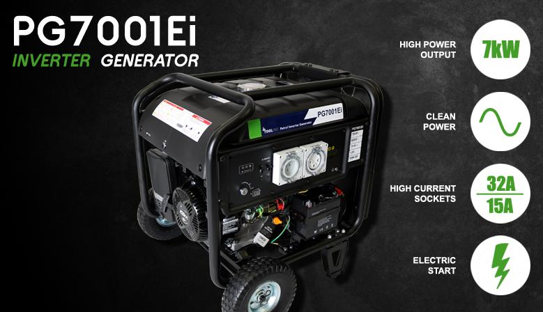 PG7001Ei Petrol Inverter Generator